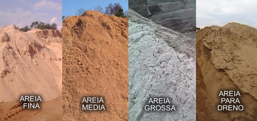Areia não é tudo igual!